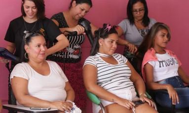 Pesquisa mostra que 47% das pessoas não foram a salão de beleza nos últimos 12 meses Foto: Cléber Júnior / Agência O Globo