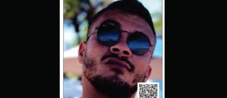 Cartaz do Disque Denúncia oferecia recompensa por suspeito de atropelar amigos na Barra Foto: Divulgação