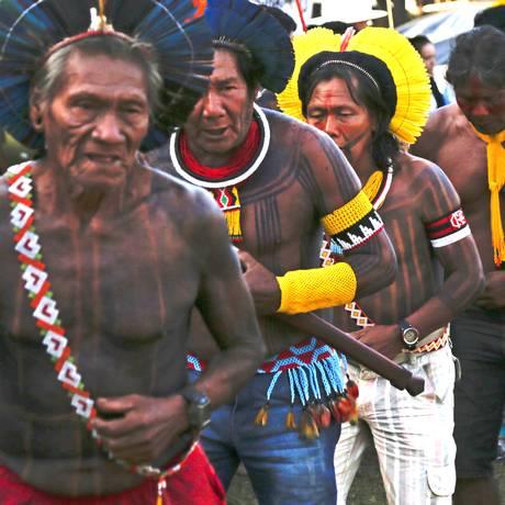 Indígenas podem ser abordados na prova em novembro. Foto: Michel Filho / Agência O Globo