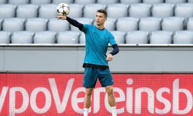 Cistiano Ronaldo soma 120 gols na em edições da Liga dos Campeões Foto: JAVIER SORIANO / AFP