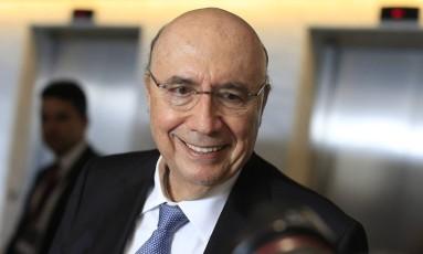 O ex-ministro Henrique Meirelles Foto: Edilson Dantas / Agência O Globo