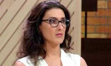 Paola Carosella defende a manutenção da informação sobre transgênicos nos rótulos dos alimentos Foto: Reprodução da TV