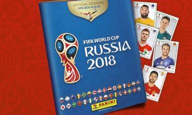 Álbum de figurinhas Copa da Russia 2018 Foto: Divulgação
