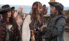 'Piratas do Caribe 4' fez US$ 1 bilhão nas bilheterias Foto: Divulgação