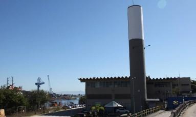 Base de Operações Offshore da UTC Engenharia em Niterói Foto: Lucas Tavares / Agência O Globo