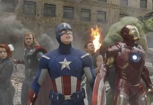 Cena de 'Os Vingadores' Foto: Reprodução