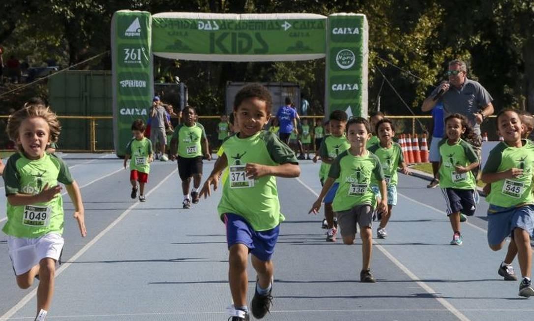 0cb7929591d Para crianças. Prova passa a integrar a Maratona do Rio este ano Foto   divulgação