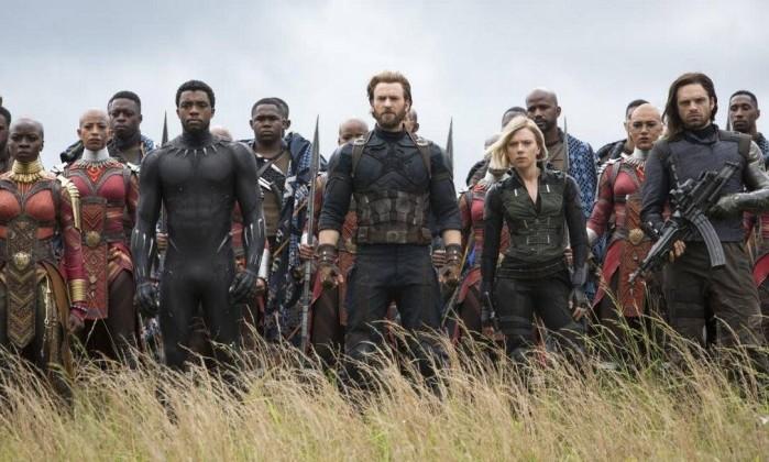 Cena do filme 'Vingadores: guerra infinita' Foto: Divulgação