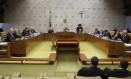 Sessão plenária do Supremo Tribunal Federal Foto: Jorge William / Agência O Globo