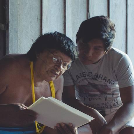 Cena do filme 'Ex-pajé' Foto: Divulgação
