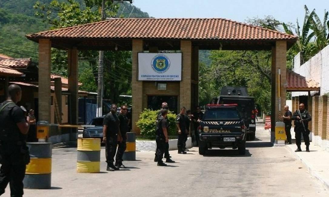 O Complexo Penitenciário de Gericinó Foto: Reprodução / .