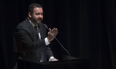 Dyogo Oliveira, ex-ministro do Planejamento e presidente do BNDES. Foto: Mauro Pimentel/AFP