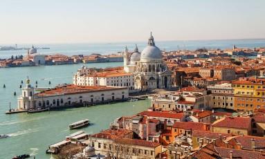 A cidade de Veneza, na Itália Foto: Creative Commons/Superchilum