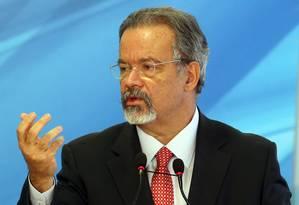 Após evento em Brasília, ministro anunciou novas verbas para a Segurança Pública Foto: Givaldo Barbosa / Agência O Globo