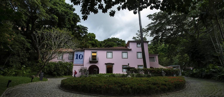 Fachada do Instituto Casa Roberto Marinho Foto: Alexandre Cassiano / Agência O Globo