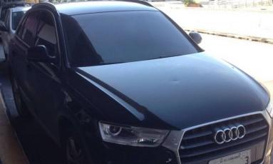 Audi Q3 foi recuperado pela polícia durante ação no Galeão Foto: Divulgação