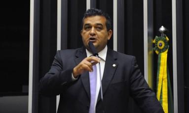 Marcio Junqueira discusa no plenário da Câmara Foto: Luis Macedo/Câmara dos Deputados/19-04-2013