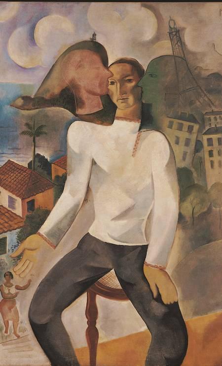 'Orquestra', guache sobre papel de Lasar Segall, de 1933 Foto: Divulgação