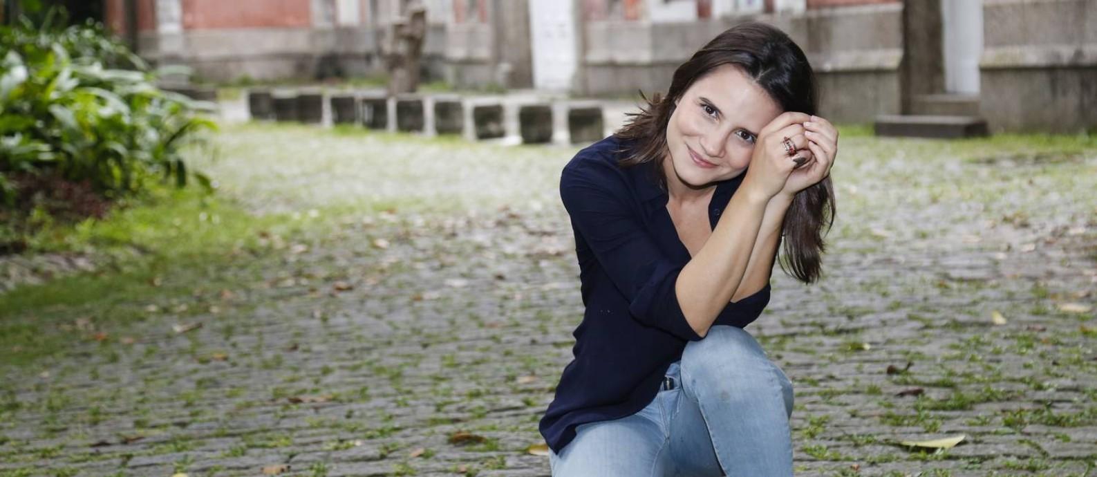 A atriz Bianca Comparato, de '3%' Foto: Marcos Ramos / O Globo