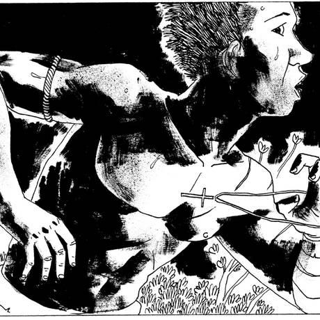 Imagem do álbum 'Cumbe', de Marcelo D'Salete, indicado ao Eisner Foto: Reprodução