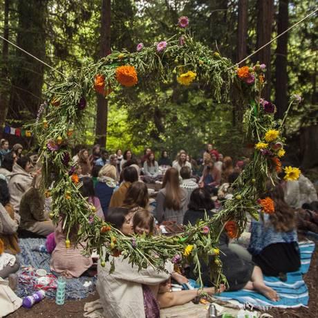 Encontro do Spirit Weavers Gathering Foto: Divulgação