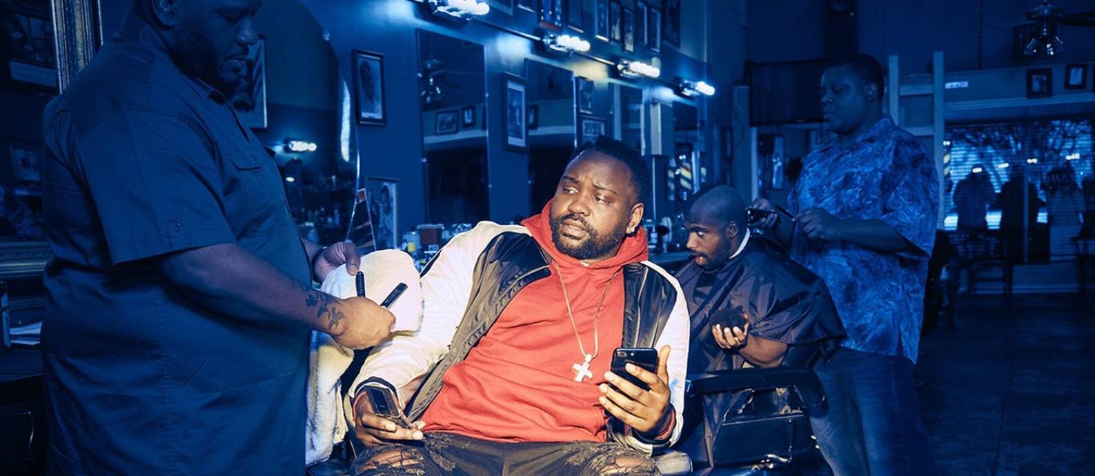 O ator Brian Tyree Henry como o rapper Paper Boi da série de TV 'Atlanta' Foto: Divulgação