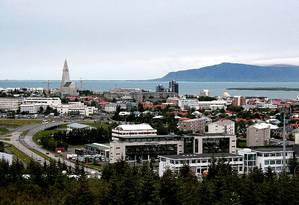 Reykjavík, capital da Islândia Foto: Creative Commons