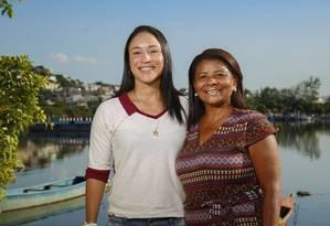 Carla é o braço-direito da mãe na Associação de Mulheres da Ilha do Governador Foto: marcelodejesus / Fotos de Marcelo de Jesus