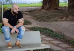 Fabiano de Abreu diz que não queria publicar, mas já pensa no segundo livro Foto: Divulgação / Marcus Ribeiro