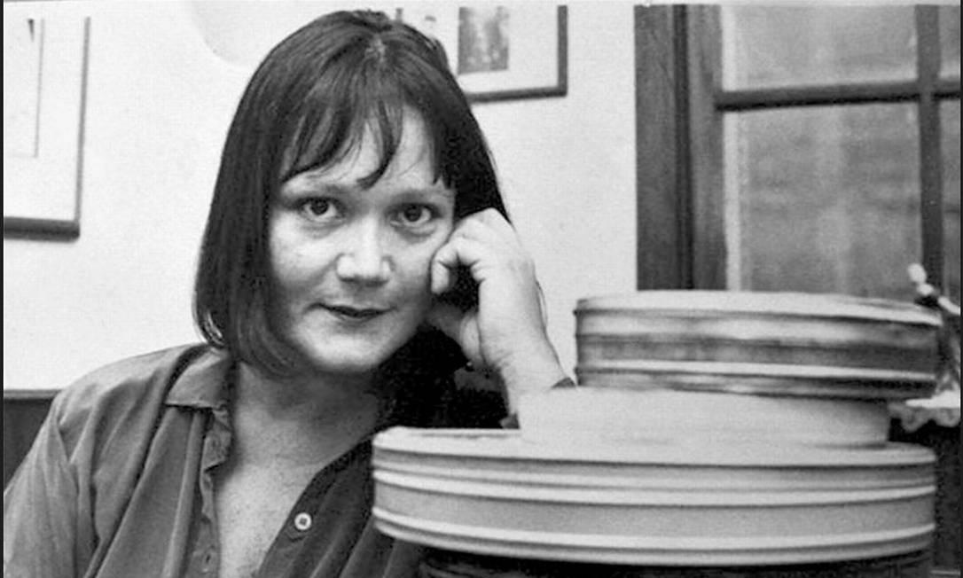 A escritora Hilda Machado em foto de 1983 Foto: Beatriz Albuquerque / Divulgação