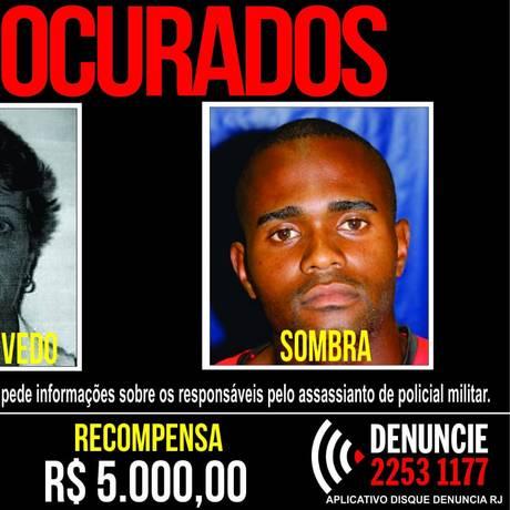Cartaz com rostos de suspeitos de o crime Foto: Divulgação/Portal dos Procurados