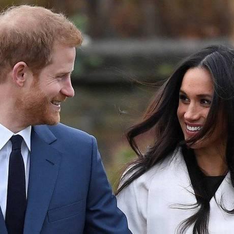Meghan Markle e príncipe Harry Foto: TOBY MELVILLE / REUTERS