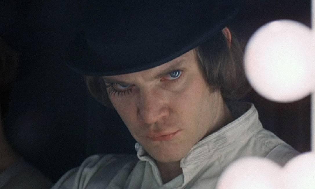"""""""Laranja mecânica"""", de Stanley Kubrick Foto: Divulgação"""