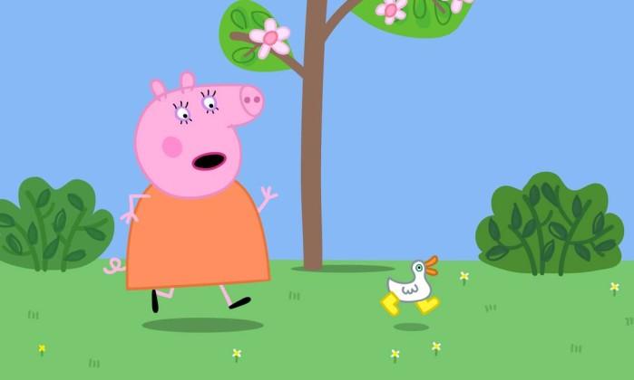 Peppa Pig é uma porquinha rosa - Divulgação