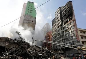 Segundo o governo federal, responsabilidade pelo pedido de reintegração era de 'ambas instituições' Foto: Paulo Whitaker / Reuters