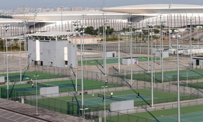 Parque Olímpico abre as portas e suas quadras para os cariocas Foto: Guilherme Pinto / Agência O Globo