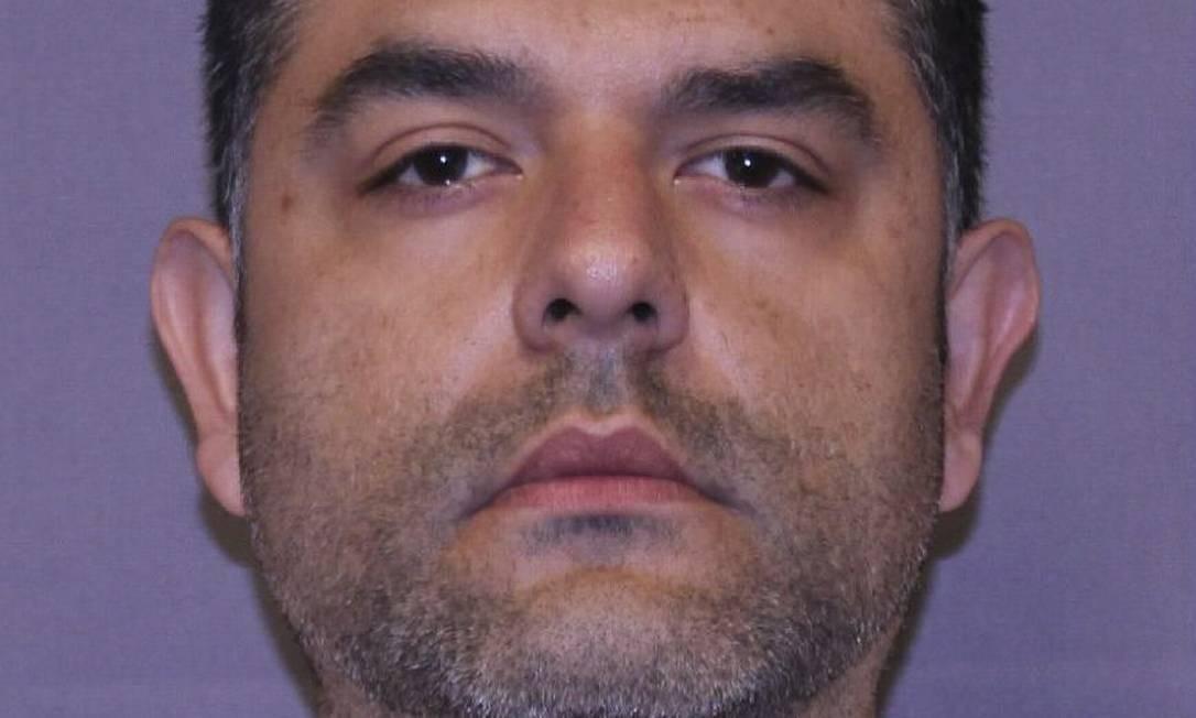 O veterinário colombiano Andres Lopez Elorez, de 38 anos, foi extraditado da Espanha para os EUA. Ele foi preso em 2015 Foto: HO / AFP