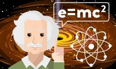 Antes de alcançar esse status de celebridade, Einstein remodelou boa parte do que a Física explicava sobre o universo Foto: Fotolia