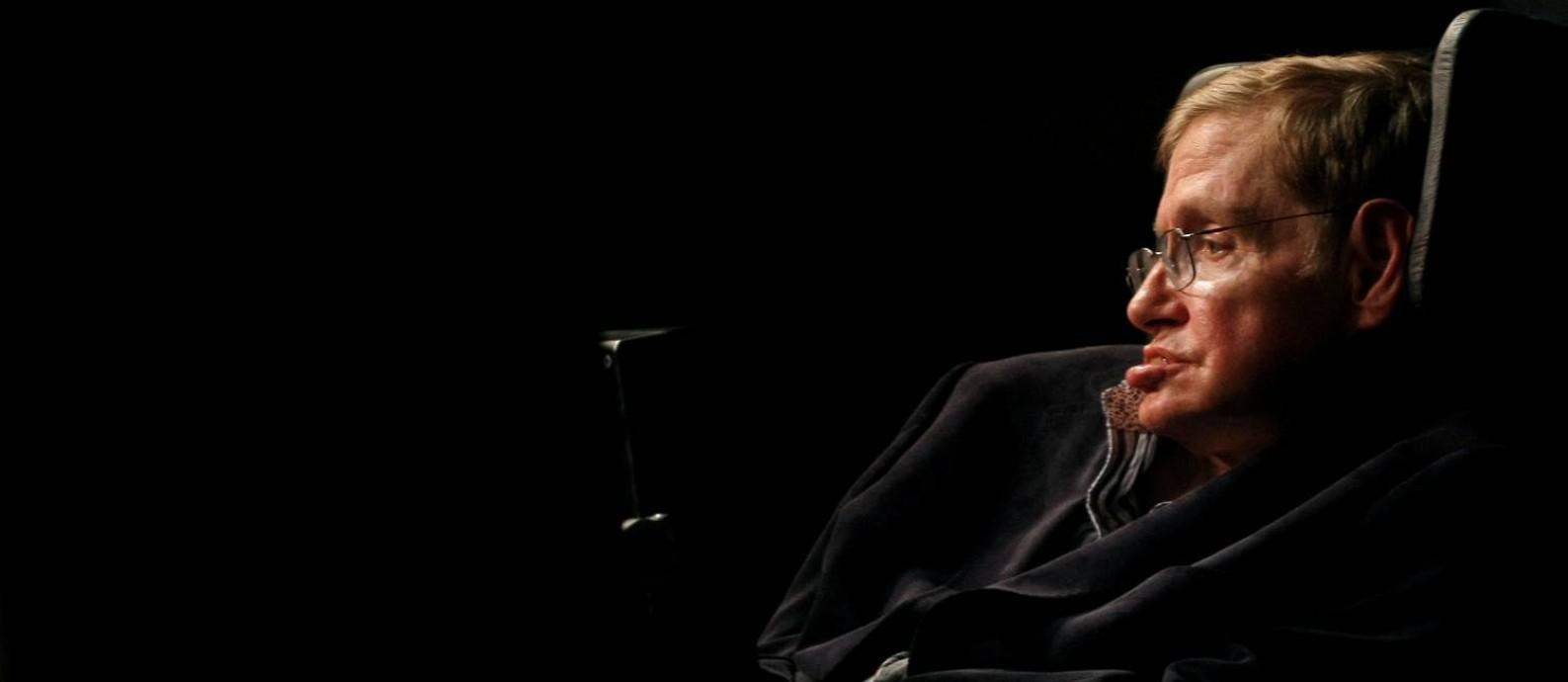 O físico teórico Stephen Hawking morreu em março deste ano Foto: Mike Hutchings / Reuters/11-05-2008