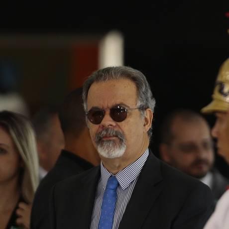 O ministro da Segurança Pública, Raul Jungmann, em cerimônia 02/05 Foto: Jorge William / Agência O Globo