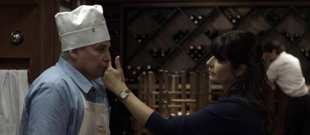 Cena do filme 'Teu mundo não cabe nos meus olhos' Foto: Divulgação