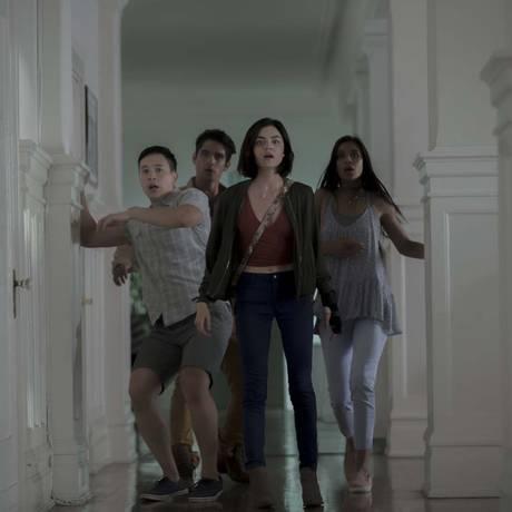 Cena do filme 'Verdade ou desafio' Foto: Peter Iovino / Divulgação
