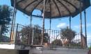O coreto da Praça Catolé do Rocha está abandonado Foto: Divulgação/José Paulo Nascimento