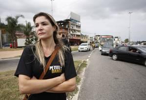 Letícia Gama: 'Está impraticável viver no Rio de Janeiro' Foto: Pablo Jacob / Agência O Globo
