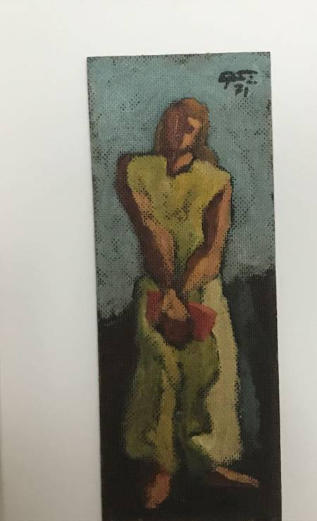 Quadro de Sigaud na coleção de Dario Messer Foto: Reprodução