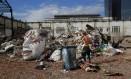 Terreno do Porto que era ocupado pela Alegria da Zona Sul foi esvaziado recentemente e teve parte do prédio demolida Foto: Marcos Ramos