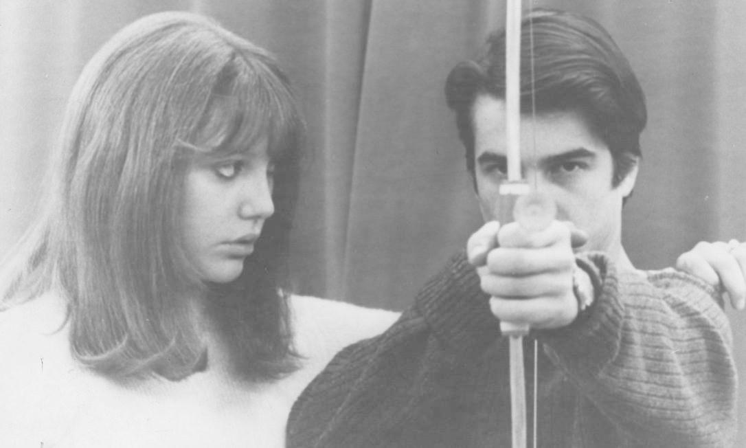 PROJETO 2000 - CENA DO FILME A CHENESA - NO ELENCO ANNE WIAZEMSKY E JEAN-PIERRE LÉAUD . DIREÇÃO DE JEAN LUC GODARD - DIVULGAÇÃO. Foto: Anne Wiazemsky e Jean-Pierre Léaud em uma cena de 'Pocilga' (1969), de Pier Paolo Pasolini / Divulgação