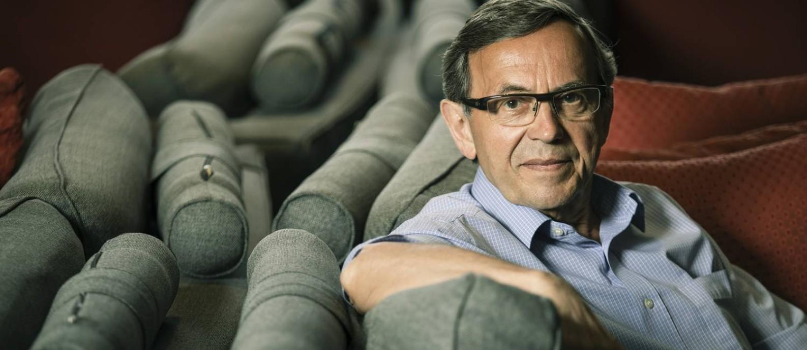 O historiador francês Jean-Yves Mollier Foto: Leo Martins / Agência O Globo