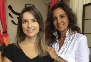 Bruna Olliveira (à esquerda) e Cláudia Jasmim Foto: divulgação