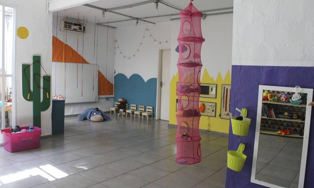 M Working. O primeiro andar da casa, em Botafogo, é totalmente dedicado às crianças; futuramente, será aberto também nos fins de semana Foto: fotos de ana beatriz marin